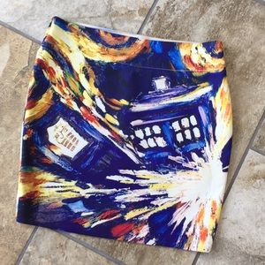 Doctor Who skirt